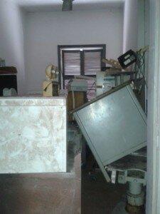 Kampot skills lab before renovations