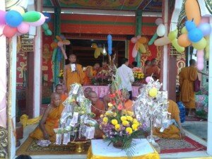 Money Flower Ceremony in Bendei Pagoda (2015)