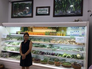 Ms. Thlang Sovann Pisey, Director of Khmer Organic Cooperative (KOC) Photo by Chhai Kosal