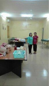Kampot skills lab after renovations
