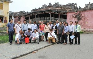 22 April 2015 - Cambodian delegation visited Hoi An Ancient Town to understand about the implementation of house restoration regulation and arrangement for tourism development.