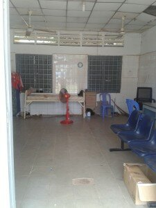 Kampong Speu skills lab before renovations