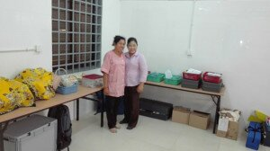 Kampong Speu skills lab after renovations