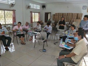 Focus Group Discussion in Kampong Thom (Photo by Mr. Ly Chanvathanak)