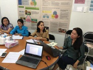 Focus Group Discussion in Phnom Penh (Photo by Mr. Ly Chanvathanak)