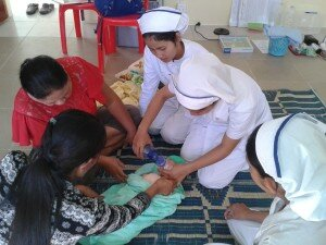 Coaching in neonatal resuscitation