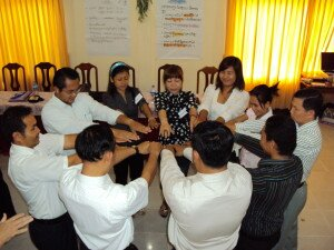 ALUMNI -training on Organizational Development in Sihanouk Vill 29-30 Apr 10