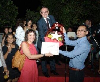 ARDP program receiving award