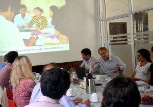 Ole Doetinchem presents the GIZ IDPoor programme.
