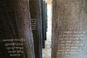 Exhibition on Forced Marriage under the Khmer Rouge