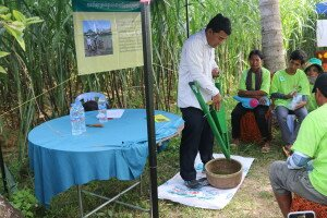 Innovative methods of direct seeding of mung bean were introduced as well as nutrition counselling for women and children under 2 years.