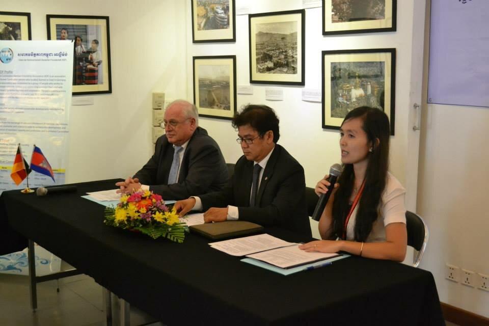 Inauguration of German-Cambodian Friendship Association
