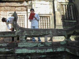 Mapping at Banteay Samre