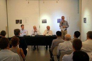 Speakers from left to right Meisenberg, Koumjian, Stanton, Smith