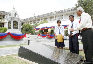 @Photo: Khim Sovannara Agence Kampuchea Presse
